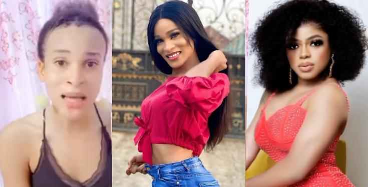 "Shemale Pig, I Still Remain Everyone Mummy"" – Bobrisky Drags Transgender, Deevaah To Filth [VIDEO] - Afemai Reporters"